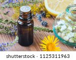 aromatherapy with essential... | Shutterstock . vector #1125311963