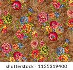 seamless floral structure images | Shutterstock . vector #1125319400