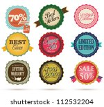 vintage styled label   Shutterstock .eps vector #112532204