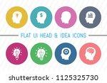 flat ui 8 color idea bulb  ...