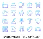 swimming pool equipment thin... | Shutterstock .eps vector #1125344630