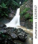 La Mina Waterfall In El Yunque...
