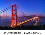 The Golden Gate Suspension...
