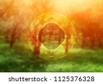 vector template of banner with... | Shutterstock .eps vector #1125376328