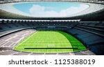3d stadium field render | Shutterstock . vector #1125388019