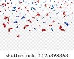 celebration transparent... | Shutterstock .eps vector #1125398363
