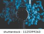 man watch design style   Shutterstock . vector #1125399263