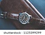 man watch design style   Shutterstock . vector #1125399299