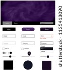 dark purple vector wireframe...