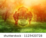 template of banner for web and... | Shutterstock .eps vector #1125420728