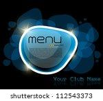menu design   Shutterstock .eps vector #112543373
