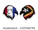 france vs east timor | Shutterstock . vector #1125436796