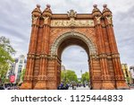 barcelona  spain   april 14 ... | Shutterstock . vector #1125444833