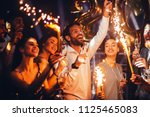 Group Of Friends Celebrating...