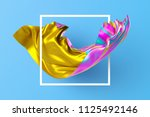 3d render  abstract fashion... | Shutterstock . vector #1125492146