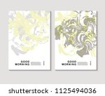 the abstract colorful... | Shutterstock .eps vector #1125494036