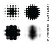 abstract halftone backgrounds....   Shutterstock .eps vector #1125512654