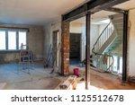 interior of a house under... | Shutterstock . vector #1125512678