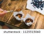 girls prepare beautiful and... | Shutterstock . vector #1125515060