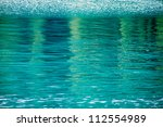 Blue Pool Water Background...