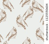 seamless pattern with hand... | Shutterstock .eps vector #1125550604