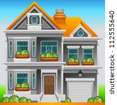 house icon   Shutterstock .eps vector #112555640