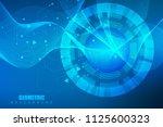 big data visualization... | Shutterstock .eps vector #1125600323