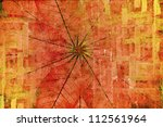 abstract the old grunge wall... | Shutterstock . vector #112561964
