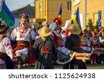 genichesk  ukraine   august 26  ... | Shutterstock . vector #1125624938