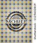 mobile arabesque emblem... | Shutterstock .eps vector #1125632819