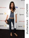 "Small photo of Caroline D'Amore at Samsung and Sprint ""The Upstage"" Country Club. Private Location, Beverly Hills, CA. 04-15-07"