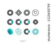 creative concept idea graphic... | Shutterstock .eps vector #1125650759