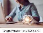 creativity and innovative are... | Shutterstock . vector #1125656573