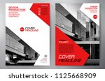 business brochure. flyer design.... | Shutterstock .eps vector #1125668909