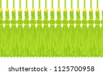 vector seamless border pattern. ... | Shutterstock .eps vector #1125700958