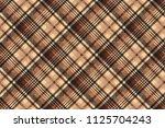 seamless pattern tartan... | Shutterstock . vector #1125704243