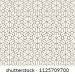 pattern with crossing thin... | Shutterstock .eps vector #1125709700