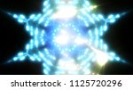 abstract shiny blue background... | Shutterstock . vector #1125720296
