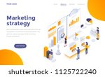 modern flat design isometric... | Shutterstock .eps vector #1125722240
