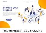 modern flat design isometric... | Shutterstock .eps vector #1125722246
