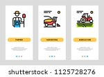 agriculture and farming banners.... | Shutterstock .eps vector #1125728276