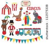 escribano,circo,animales de circo,oso de circo,payaso de circo,elefante de circo,sello de circo,carpa de circo,tren de circo,galería de imágenes,payaso,elefante,palomitas de maíz,retro,maestro de ceremonias