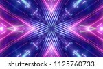 shiny club lights   Shutterstock . vector #1125760733