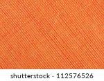 Orange Striped Fabric As...