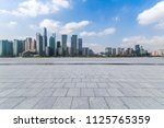 panoramic skyline and buildings ... | Shutterstock . vector #1125765359