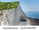 View Of The White Chalk Cliffs...