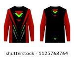 design for sublimation print.... | Shutterstock .eps vector #1125768764