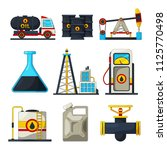 fuel and gas industry. vector... | Shutterstock .eps vector #1125770498