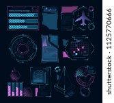 digital futuristic elements for ...