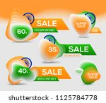 indian independence day banner... | Shutterstock .eps vector #1125784778